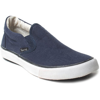 Rexona Mens Casual Canvas Sneaker - Classic-Navy