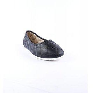 Globalite Women's Black Smart Casuals Shoes
