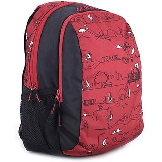 Buy Wildcraft Scoot Ld Polyester Kids Casual Backpack Red Online