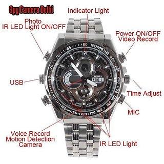 Onsgroup Spy Wrist Watch Camera (Night Vision)