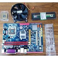 Zebronics Motherboard + Intel Core 2 Duo Processor + DDR2 Ram 4GB (1yr Warranty)