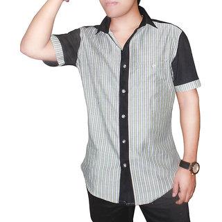 Albani Full Formal Stripes Patterns Shirts for Men