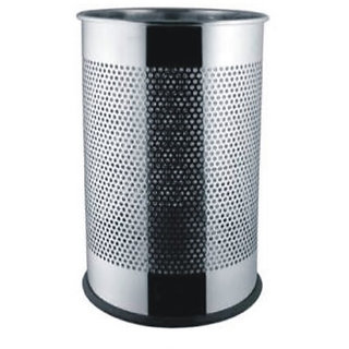 STAINLESS STEEL DUSTBIN SET OF 2 +FREE SHIPPING