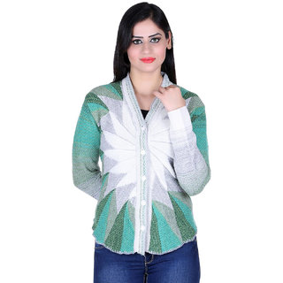 Multicolour Cardigan for Partywear for Women