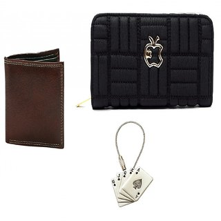Combo Of Wallets  Key Chain  Card Holder