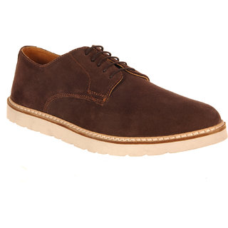 Buy Etromilano Brown Leather Semi casual Shoes Online   ₹1599 from ... f1daf071e5f9