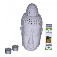 Garden Pleasure Lord Buddha Candle Aroma Oil Diffuser W