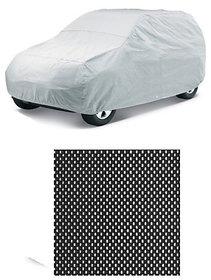 Autostark Combo Of Maruti Suzuki Eeco Car Body Cover With Non Slip Dashboard Mat