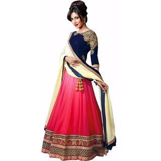 Fashion Star Womens Georgette Lehenga Choli