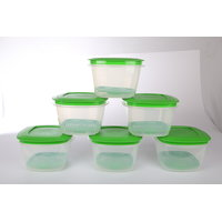 Veggie Fresh Refrigerator Storage 2000ml Container Set of 4 With Special Freshness Trays