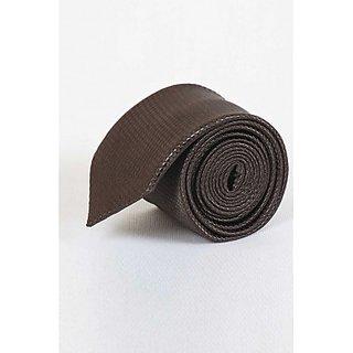ST MARC Brown Striped Narrow Tie ( NRPLN53480602)