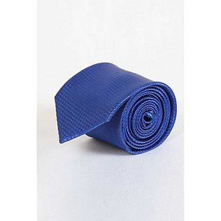 ST MARC Blue Striped Narrow Tie (NRPLN53480603)