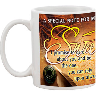 TIA Creation My Sweetheart Gift Coffee Mug