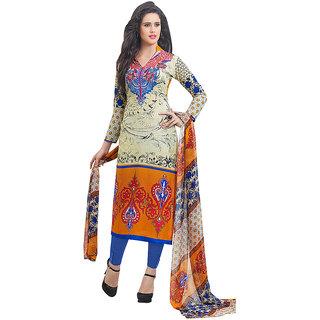 Casual Multicolor Cotton Salwar Kameez