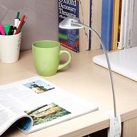 LED Gigalyte Clamp - Cool White Light - Silver