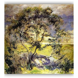 Vitalwalls Landscape Painting Canvas Art Print. Scenery-274-45cm