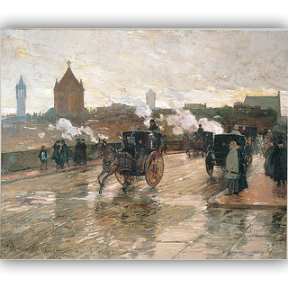 Vitalwalls Landscape Painting Canvas Art Print. Scenery-299-45cm