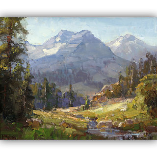 Vitalwalls Landscape Painting Canvas Art Print. Scenery-302-30cm