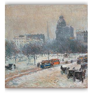 Vitalwalls Landscape Painting Canvas Art Print. Scenery-308-45cm