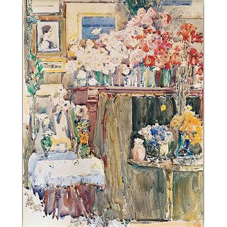 Vitalwalls Landscape Painting Canvas Art Print. Scenery-309-30cm