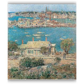 Vitalwalls Landscape Painting Canvas Art Printon Wooden Frame Scenery-310-F-45cm