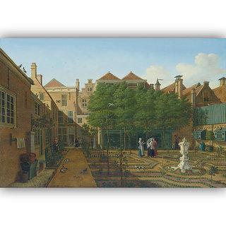 Vitalwalls Landscape Painting Canvas Art Printon Wooden Frame Scenery-312-F-30cm