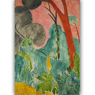 Vitalwalls Landscape Painting Canvas Art Print. Scenery-313-30cm