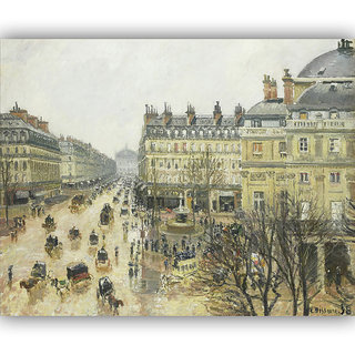 Vitalwalls Landscape Painting Canvas Art Printon Wooden Frame Scenery-332-F-30cm