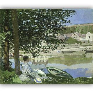 Vitalwalls Landscape Painting Canvas Art Printon Wooden Frame.Scenery-403-F-45cm