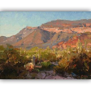 Vitalwalls Landscape Painting Canvas Art Printon Wooden Frame.Scenery-404-F-45cm