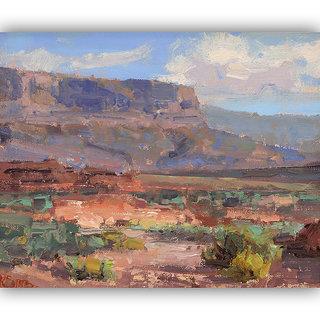 Vitalwalls Landscape Painting Canvas Art Print.Scenery-408-30cm