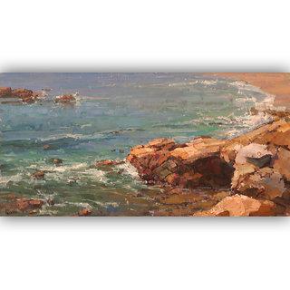 Vitalwalls Landscape Painting Canvas Art Printon Wooden Frame.Scenery-411-F-45cm