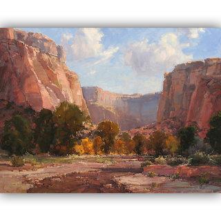 Vitalwalls Landscape Painting Canvas Art Print.Scenery-412-45cm