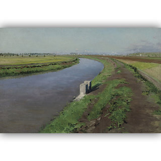 Vitalwalls Landscape Painting Canvas Art Printon Wooden Frame.Scenery-413-F-30cm