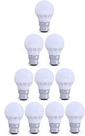 LED Bulbs 3W Combo 10 Pcs