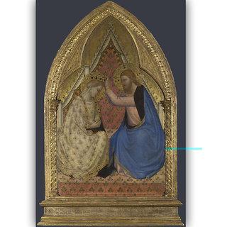 Vitalwalls Portrait Painting Canvas Art Printon Wooden Frame Religion-321-F-30cm