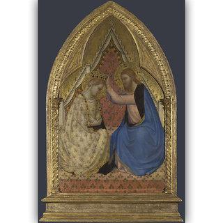 Vitalwalls Portrait Painting Canvas Art Printon Wooden Frame Religion-321-F-45cm