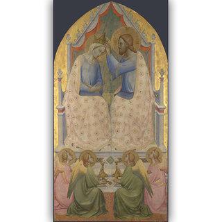 Vitalwalls Portrait Painting Canvas Art Print. Religion-322-30cm