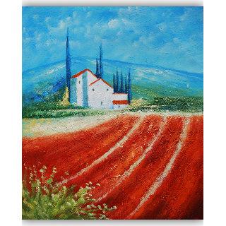 Vitalwalls Landscape Premium Canvas Art Print.Scenery-037-30cm