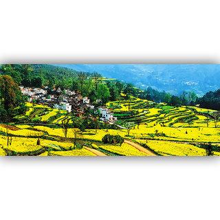 Vitalwalls Landscape Painting Canvas Art Printon Wooden Frame.Scenery-429-F-45cm