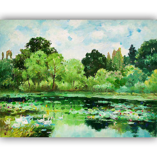 Vitalwalls Landscape Canvas Art Print, on Wooden FrameScenery-064-F-60cm