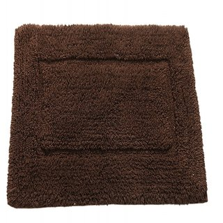 Surhome Woody Stripes Coffee Cotton Bathmat.TO1170
