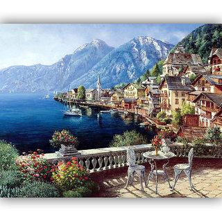 Vitalwalls Landscape Premium Canvas Art Print Scenary-103-30cm