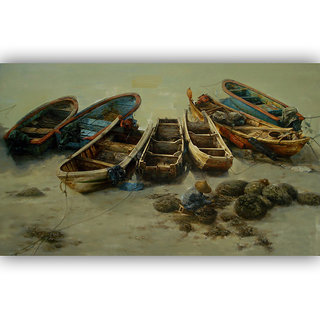 Vitalwalls Landscape Premium Canvas Art Print Scenary-123-60cm
