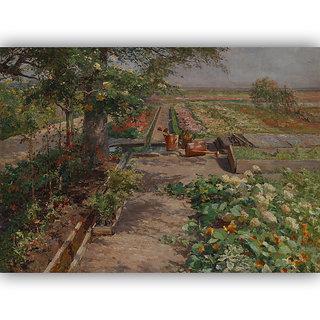 Vitalwalls Landscape Premium Canvas Art Print on Wooden Frame Scenary-124-F-30cm