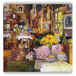 Vitalwalls Landscape Premium Canvas Art Print on Wooden Frame Scenary-199-F-30cm