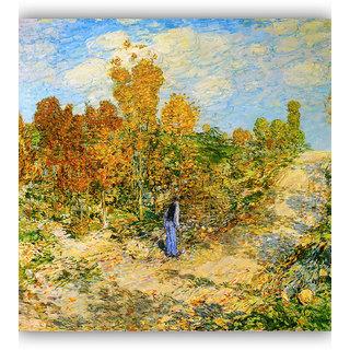 Vitalwalls Landscape Premium Canvas Art Print on Wooden Frame Scenary-201-F-30cm