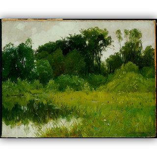 Vitalwalls Landscape Painting Canvas Art Print. Scenery-341-45cm
