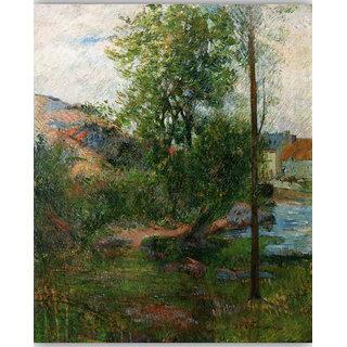Vitalwalls Landscape Painting Canvas Art Printon Wooden Frame Scenery-362-F-60cm