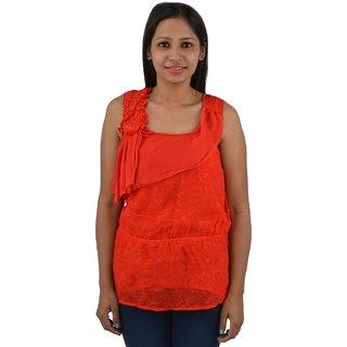 Denila Red stylish top